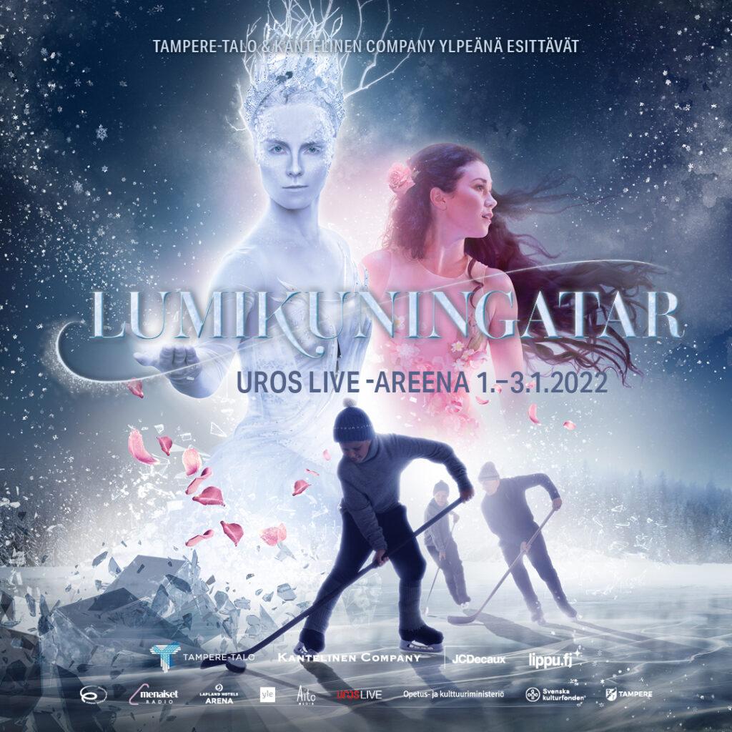 Lumikuningatar show INICE jäällä